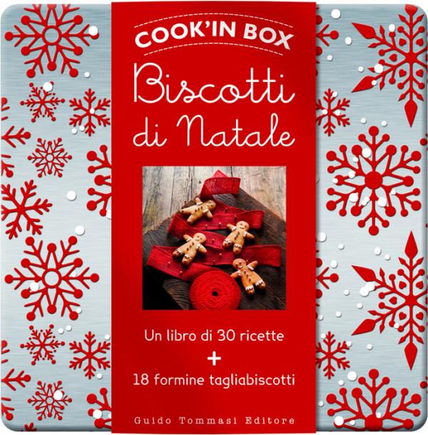 Scatola Latta Biscotti Natale.Biscotti Di Natale Libro Di Cucina Guido Tommasi Editore Guido Tommasi Editore
