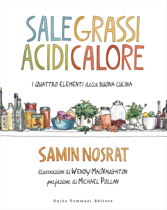 Sale grassi acidi calore